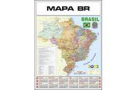 CALENDÁRIO MAPA BRASIL
