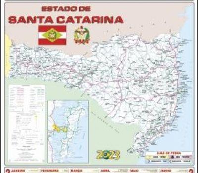 CALENDÁRIO MAPA ESTADUAL SC