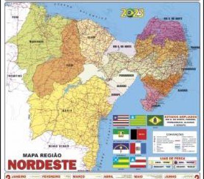 CALENDÁRIO MAPA REGIÃO NORDESTE
