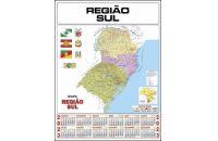 CALENDÁRIO MAPA REGIÃO SUL